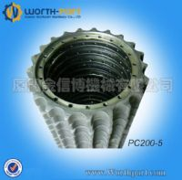 Komatsu Sprocket PC200-5 for undercarriage parts