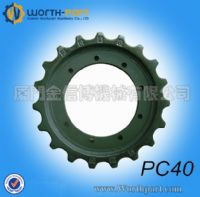 Komatsu sprocket PC40 for undercarriage parts