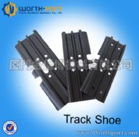 Undercarriage track shoe parts